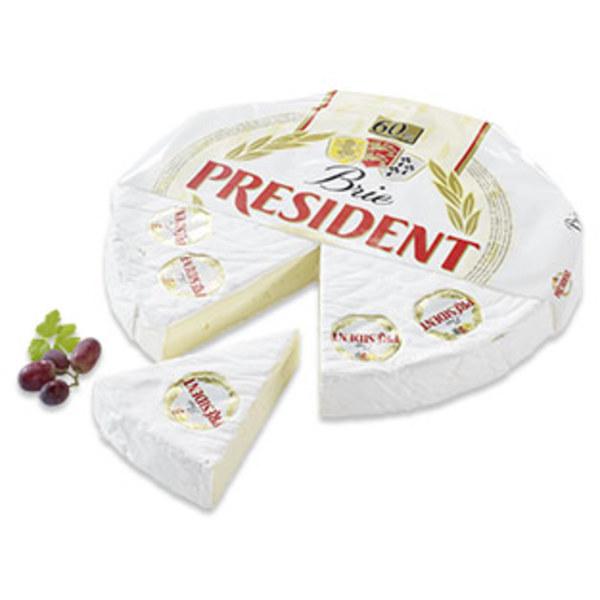 President Tortenbrie Französischer Weichkäse, 60 % Fett i. Tr., je 100 g