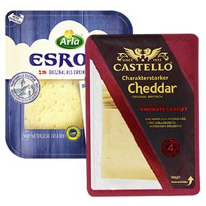 Arla Esrom Dänischer Schnittkäse, 45 % Fett i. Tr. und weitere Sorten, jede 150-g-Packung