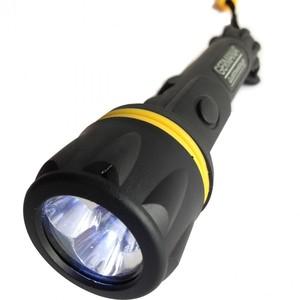 LED Taschenlampe 3-LED Germania inkl. Batterien tropfwassergeschützt gummiert