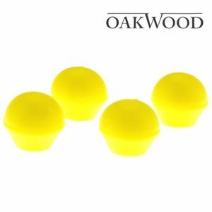 Oakwood Gehörschutzbügel Ersatzstopfen 2Stk gelb Gehörschutzstopfen Ohrenstöpsel