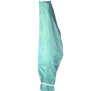 Ampelschirm Schutzhülle Ø3m grün PVC-Gewebe Oxford 200D Abdeckung Gartenschirm