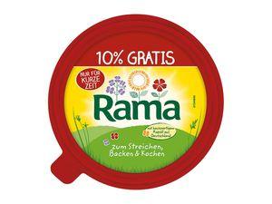 rama mit butter zum backen