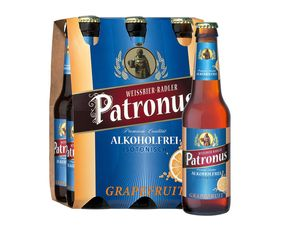 Patronus Weißbier-Radler, alkoholfrei