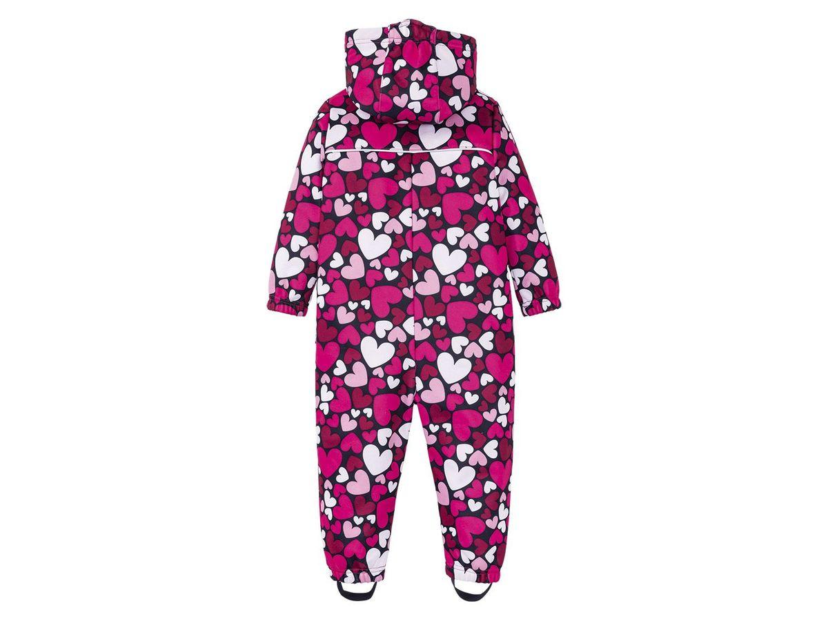 Bild 3 von LUPILU® Kleinkinder Mädchen Softshelloverall