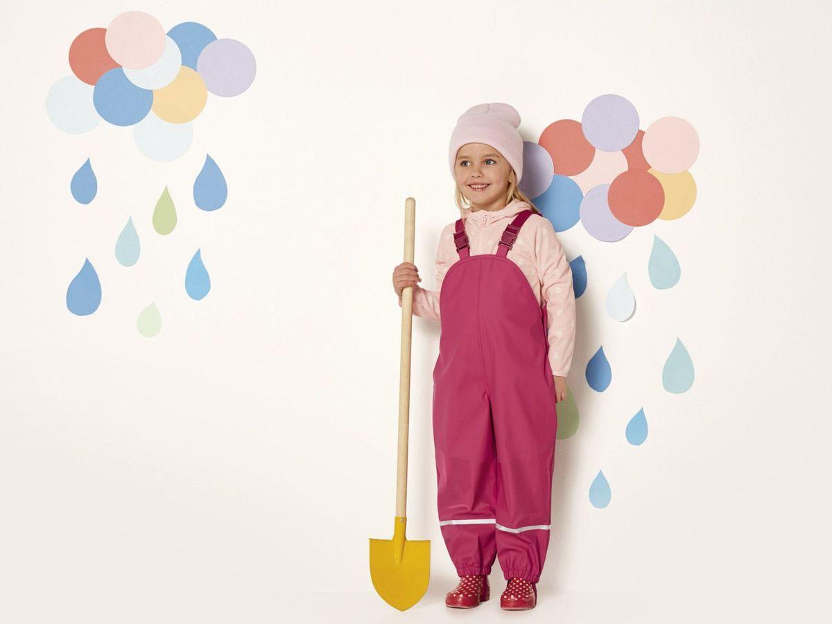 Bild 5 von LUPILU® Kleinkinder Mädchen Matsch- und Buddelhose
