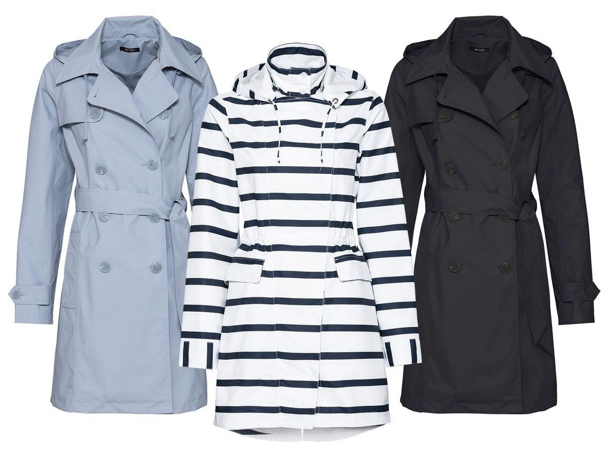Bild 1 von ESMARA® Damen Regentrenchcoat/-mantel