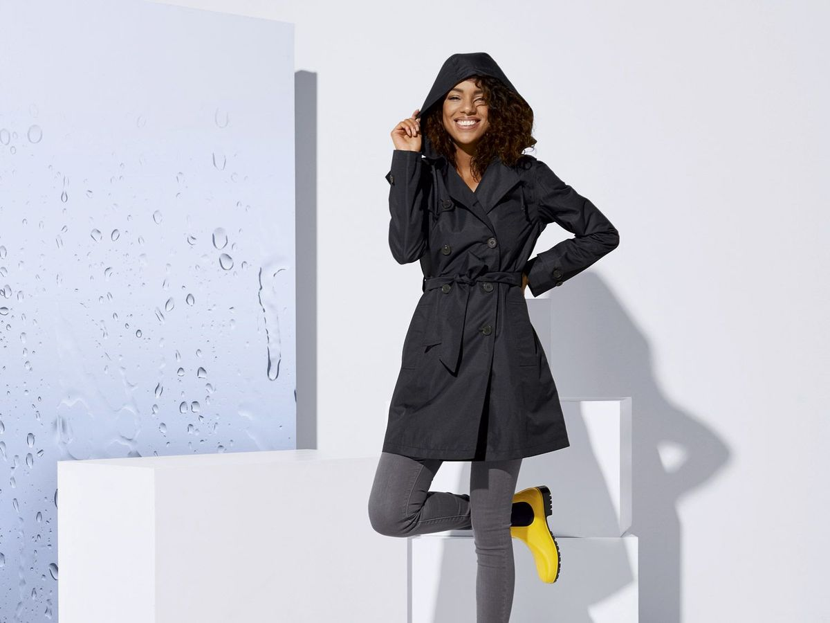 Bild 5 von ESMARA® Damen Regentrenchcoat/-mantel