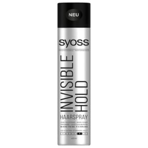 Syoss Invisible Hold Haarspray 400ml
