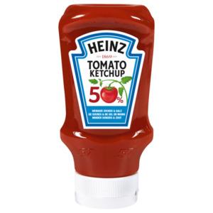 Heinz Ketchup 50% Weniger Zucker + Salz 605ml