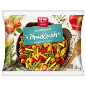 REWE Beste Wahl Gemüsepfanne Frankreich mit Kräutern der Provence 500g