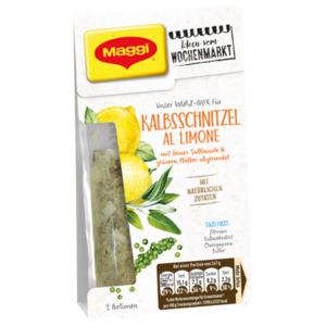 Maggi Würz-Mix für Kalbsschnitzel al Limone mit feiner Salbeinote und grünem Pfeffer 35g