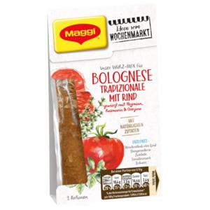 Maggi Würz-Mix für Bolognese Tradizionale mit Rind und italienischen Kräutern 41g