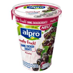 Alpro Soya-Joghurtalternative Kirsche ohne Zuckerzusatz 400g