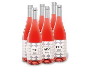 6 x 0,75-l-Flasche Weinpaket Ceo Mencía Bierzo D.O. trocken, Roséwein