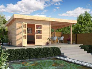 Karibu Gartenhaus Trundholm 4