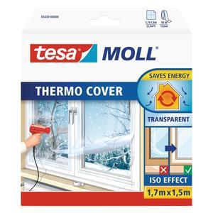 TESA                 Fenster-Isolierfolie Moll 1,5x1,7 m transparent