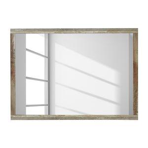Wandspiegel Tapara - Braun / Grau, roomscape