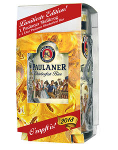 Paulaner Oktoberfestbier + Masskrug