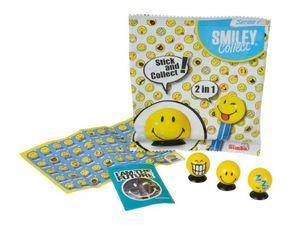 Smiley Collect - Smilies mit Saugnapf, Sticker und Booklet