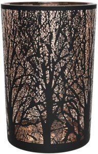Windlicht - Baum - aus Glas - 10 x 12 cm