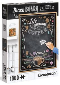 Puzzle - Coffee - 1000 Teile - Black Board Collection