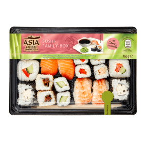 ASIA GREEN GARDEN  	   Sushi-Family-Box