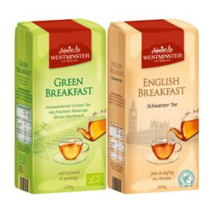 WESTMINSTER     Grüner / Schwarzer Tee