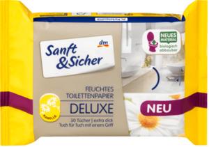 Sanft&Sicher feuchtes Toilettenpapier Deluxe Kamille