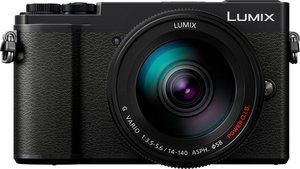 Lumix Panasonic »DC-GX9HEG-K« Systemkamera (LUMIX G VARIO 14-140mm / F3.5-5.6 ASPH. / POWER O.I.S., 20,3 MP, 4x opt. Zoom, Bluetooth, WLAN (Wi-Fi)