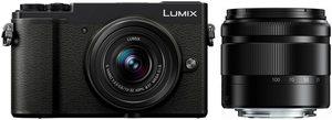 Lumix Panasonic »DC-GX9WEG-K« Systemkamera (LUMIX Telezoom 35-100mm, Lumix G Vario 12-32mm, 20,3 MP, 4x opt. Zoom, Bluetooth, WLAN (Wi-Fi)