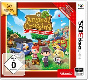Nintendo 3DS Animal Crossing New Leaf Spiel Welcome amiibo Selects
