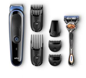 Braun MGK 3045 Körper- Haar- Trimmer schwarz/blau
