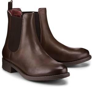 Chelsea-Boots von Shoot in braun für Damen. Gr. 38