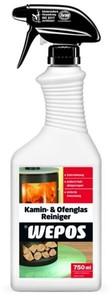 Wepos Kamin- und Ofenglas Reiniger ,  Sprühflasche, 750 ml