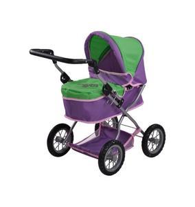 Puppenwagen First plum green