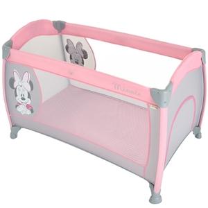 Hauck - Reisebett Play´n Relax Minnie, Pink/Grey