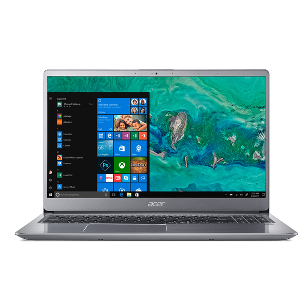 "Acer Swift 3 (SF315-52-87WN) 15,6"" Ultra HD IPS Intel Core i7-8550U 8GB DDR4 512GB SSD Aluminium Unibody Windows 10"