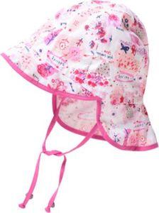 Sonnenhut mit Nackenschutz zum Binden Gr. 47 Mädchen Baby