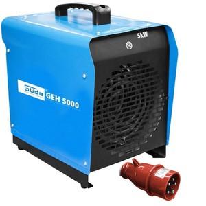 Güde Elektroheizer GEH 5000 5000 Watt / 400 V / 3 Heizstufen