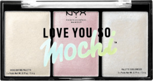 NYX PROFESSIONAL MAKEUP Love You So Mochi Highlighter Palette arcade glam 02