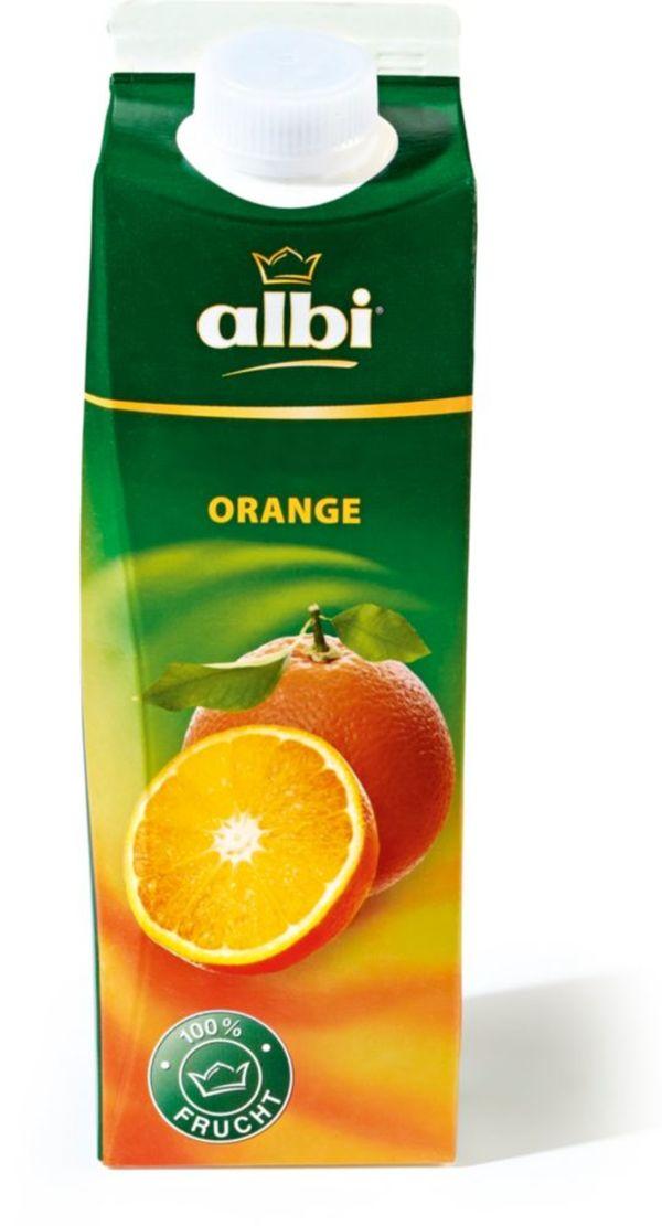 Orangensaft Marken