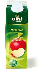 albi Apfelsaft klar 1,0 Liter