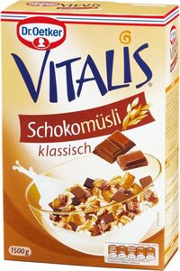 Dr. Oetker Vitalis Schokomüsli klassisch 1500g