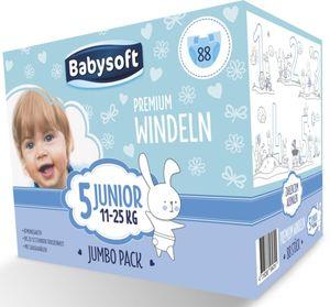 Babysoft Windeln Junior Jumbo 88 Stück