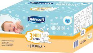 Babysoft Windeln Midi Jumbo 88 Stück