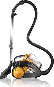 CLEANmaxx Multi-Zyklon-Staubsauger 900W gold/schwarz
