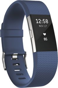 FitBit                     Charge 2, Large                                             Blau-Silber