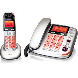 switel Schnurgebundenes Grosstastentelefon DCT5872 Combo