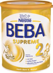 Nestlé BEBA Supreme Folgemilch 2 nach dem 6. Monat