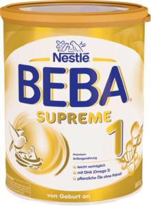 Nestlé BEBA Supreme Anfangsmilch 1 von Geburt